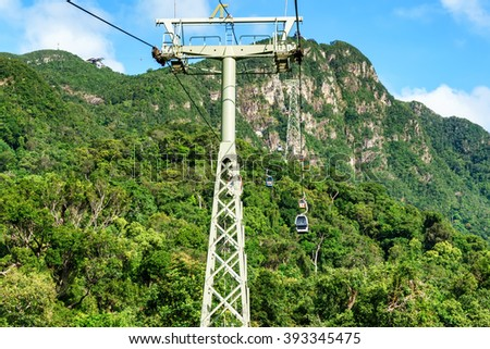 Langkawi Cable Car Stock Images Royalty Free Images Vectors