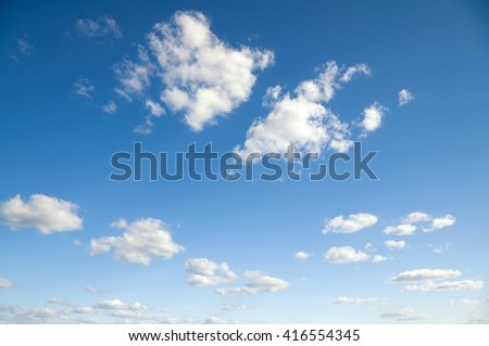Sky daylight. Natural sky composition. Element of design - stock photo