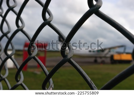 Sky Diving - stock photo