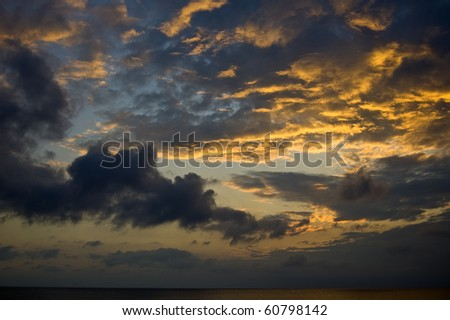 Sky Scape - stock photo