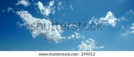Sky Texture - stock photo
