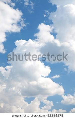 Sky view - stock photo