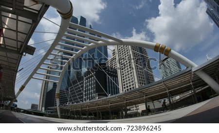 Sky walk in Bangkok 2