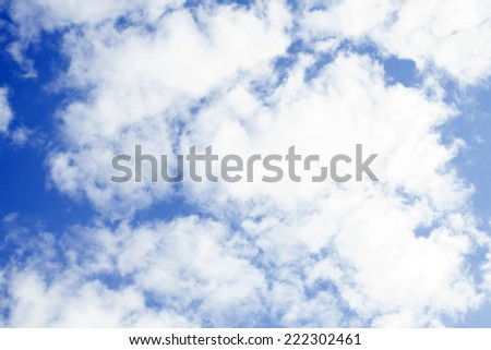 Sky with clouds. Background.