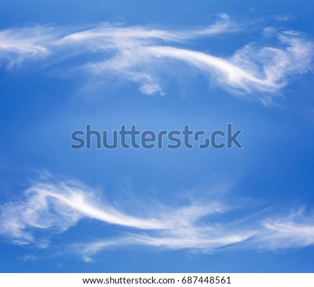 sky with clouds for background
