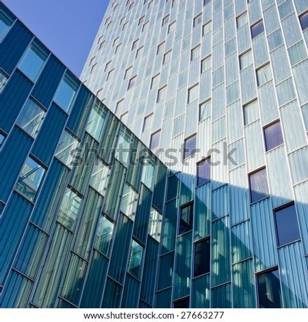 Skycraper business centre - stock photo