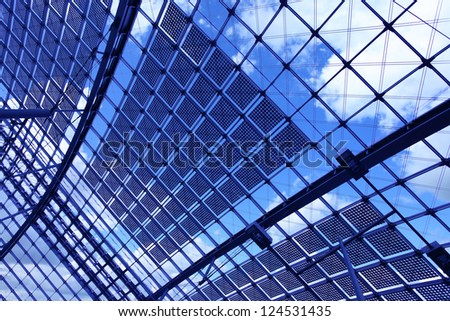 Skylight window - stock photo