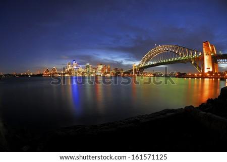 Skyline, Sydney - stock photo