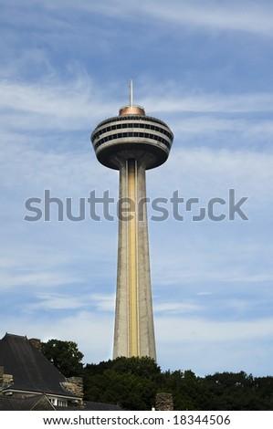 Skylon Tower at Niagara Falls, Ontario, Canada - stock photo