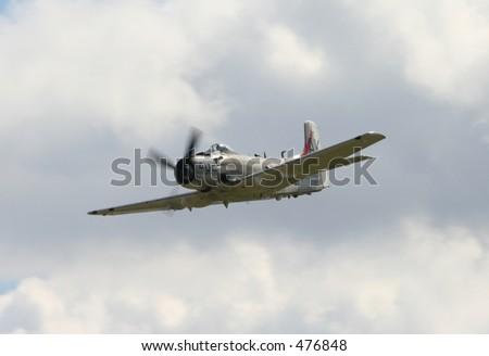 Skyraider - stock photo
