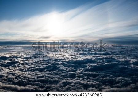 Skyscape 4  - stock photo