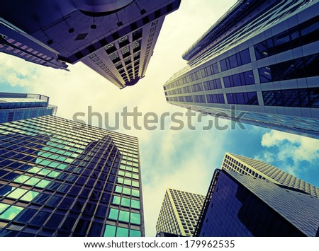 Skyscraper - stock photo