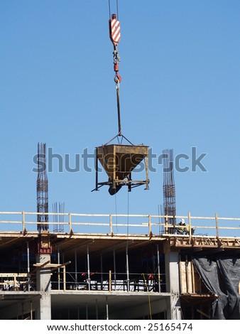 Skyscraper Construction - stock photo