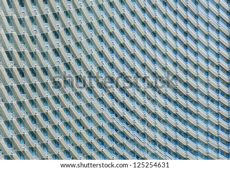 Skyscraper detail - stock photo