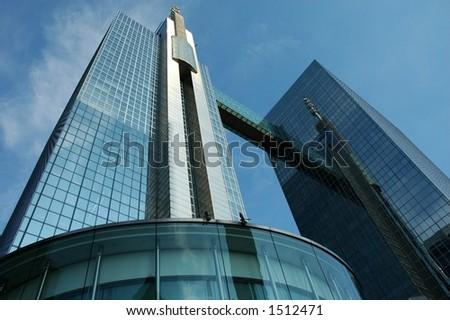 Skyscraper in Brussels, Belgium - stock photo