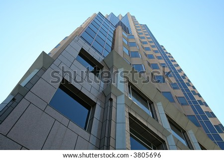Skyscraper in Downtown San Francisco - stock photo