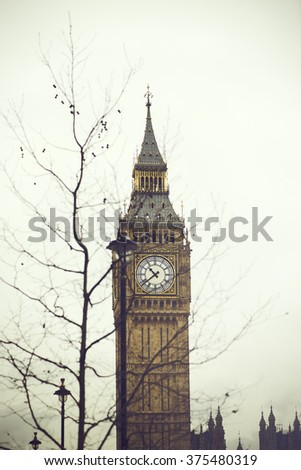 Skyscraper in London - stock photo