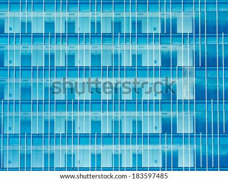 Skyscraper Office Building Windows Abstract - stock photo