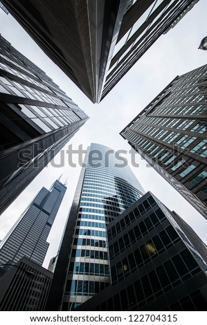 Skyscrapers in Chicago