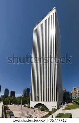 Skyscrapper - stock photo