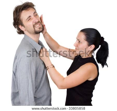 slap - stock photo
