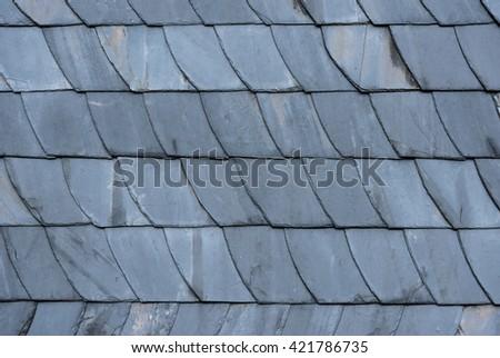 Slate At House   Slate Roof And Slate Facade Background