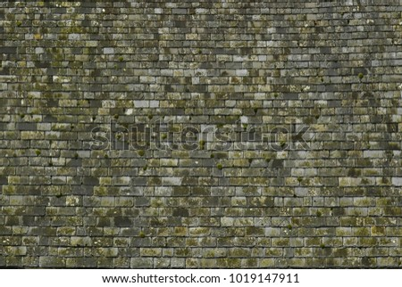 Slate roofing surface tiles overlay pattern Building top Background Architecture construction
