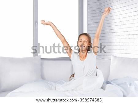 Sleeping. - stock photo