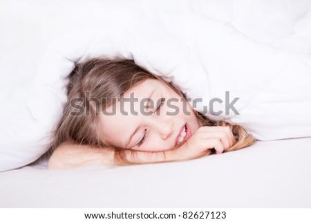 sleeping - stock photo