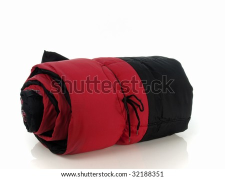 Sleeping bag - stock photo