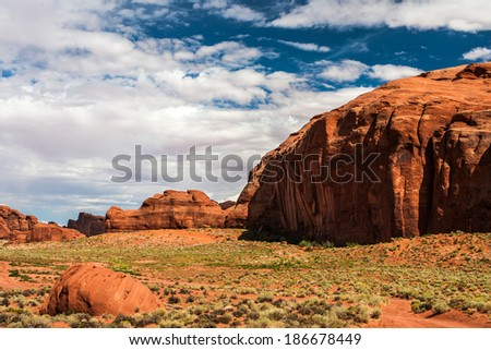 sleeping dragoon, Monument Valley