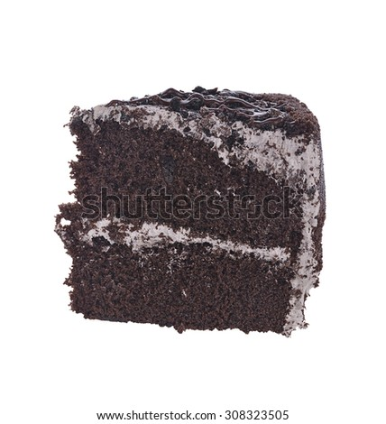 Chocolate Cake With Soil And Rock
