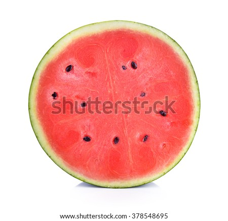 slice watermelon  - stock photo