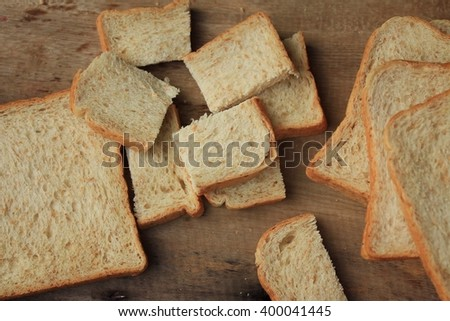 Slice whole wheat bread