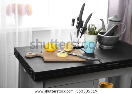 colorful fruits kitchen table stock photos, royalty-free images