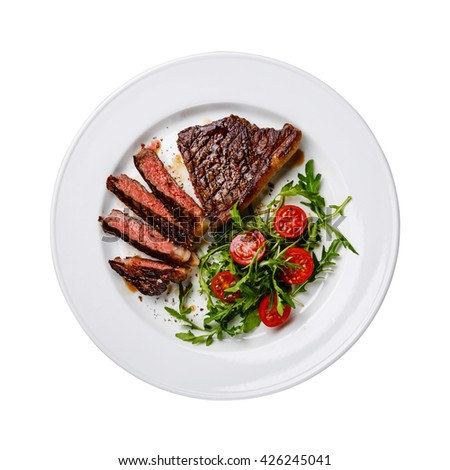 how to cook medium rare striploin