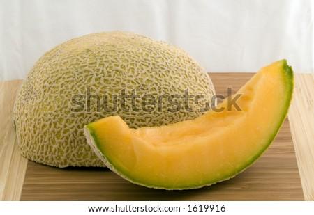 Sliced Melon - stock photo