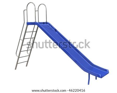 Slide - stock photo