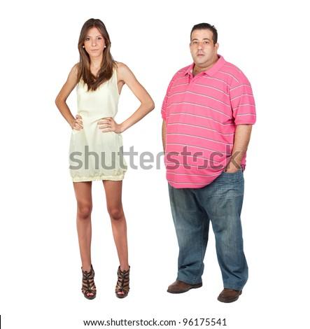 Fat Guy Hookup A Skinny Girl