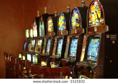 slot-machine 1 - stock photo