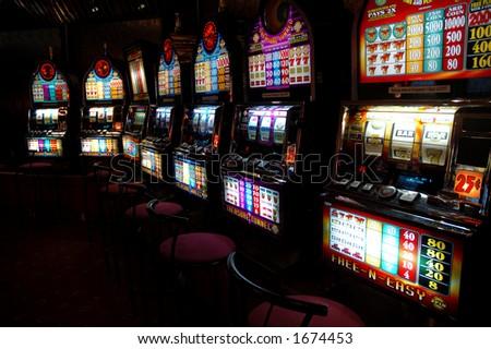slot-machines - stock photo