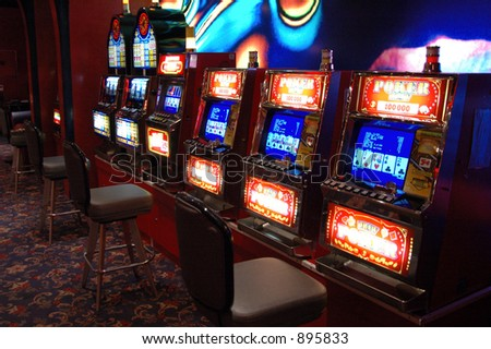 slots - stock photo