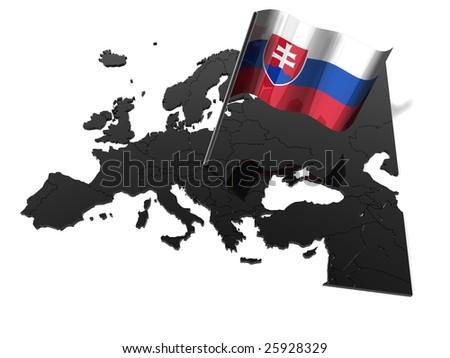 slovakia - stock photo