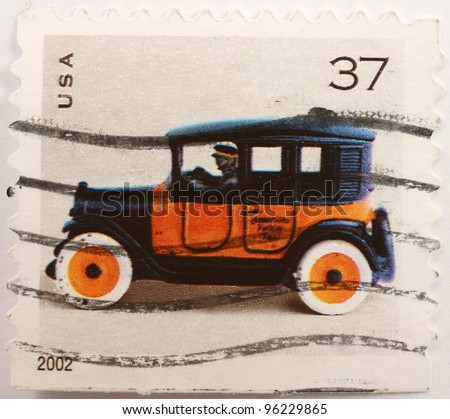 SLOVAKIA - CIRCA 1942: A stamp from Slovakia commemorates the 150th anniversary of the Slovak Literary Society, circa 1942 - stock photo