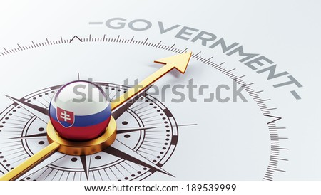Slovakia High Resolution Government Concept
