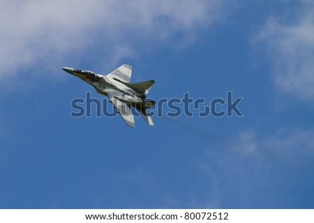 Slovakian Air Force Mig-29 Fulcrum - stock photo