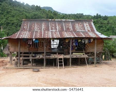 Slum House in Dakrong, Vietnam