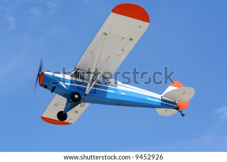 small airplane - stock photo