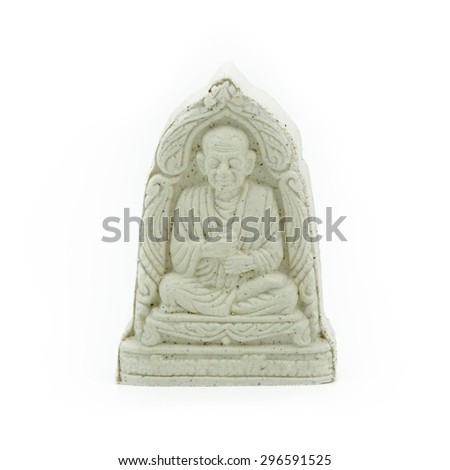 Small Amulets Buddha Image - stock photo