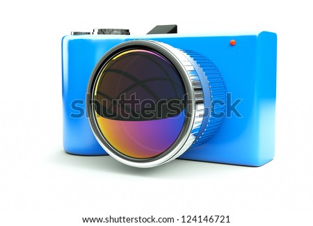 small and �  fun SLR - stock photo